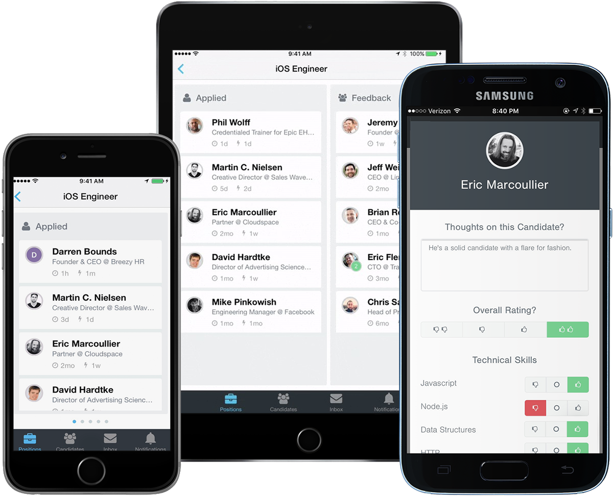 Breezy Software - Mobile apps for iOS and Android