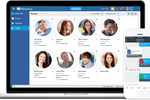 Captura de pantalla de MangoApps: MangoApps ESN is social software for business and combines the simplicity of Twitter with the richness of Facebook so your employees can easily connect, communicate and share.