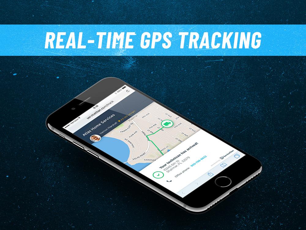 ServiceTitan GPS tracking