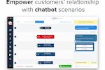 Crisp screenshot: Build the perfect chatbot
