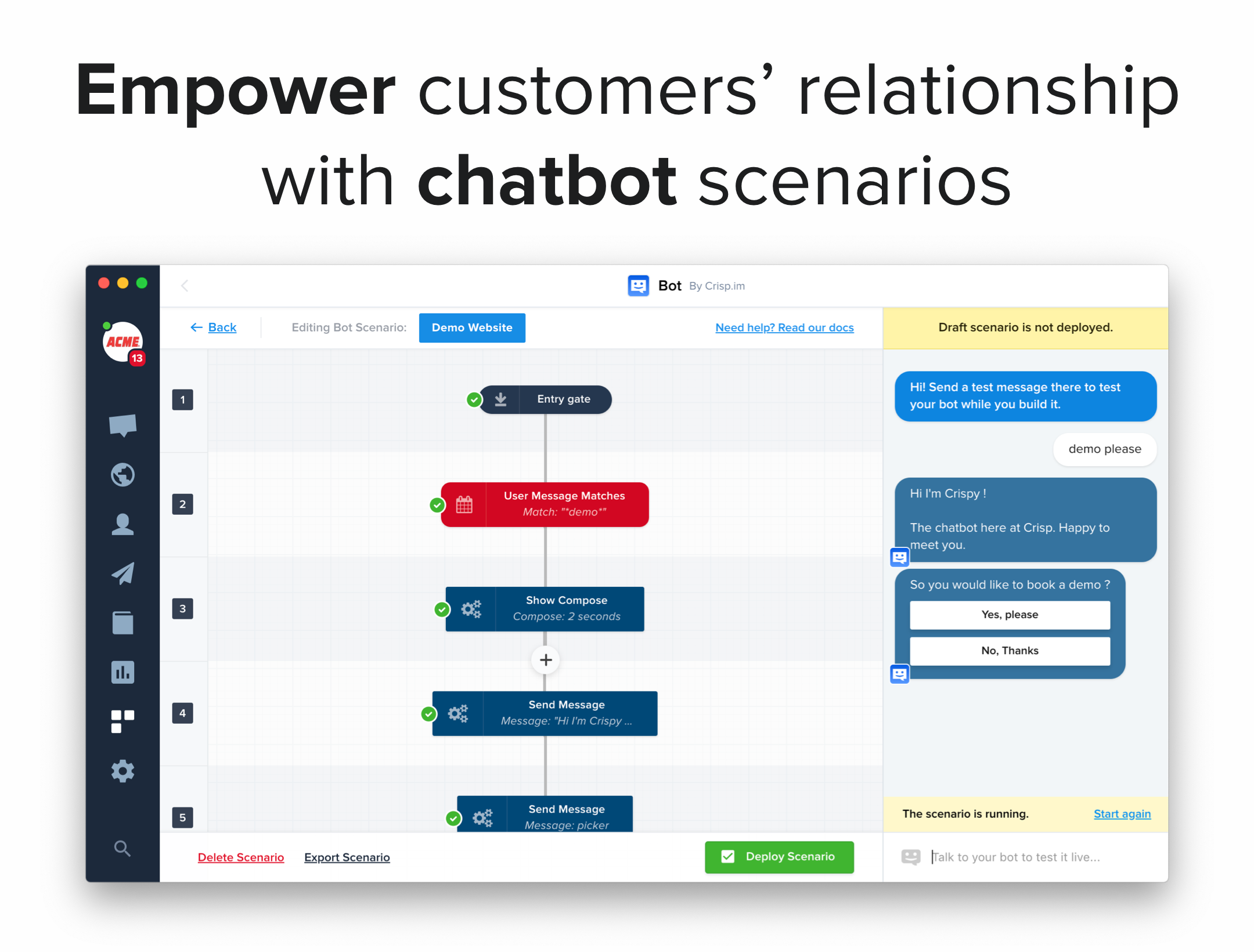 Build the perfect chatbot