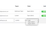 RefNow Screenshot: RefNow user management