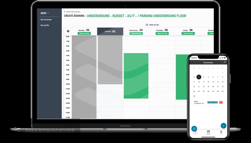 BePark Parking Management Software - 4