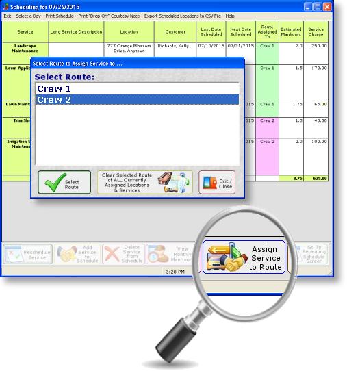GroundsKeeper Pro Software - 4