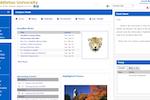 Sycamore Campus screenshot: Sycamore Campus homepage