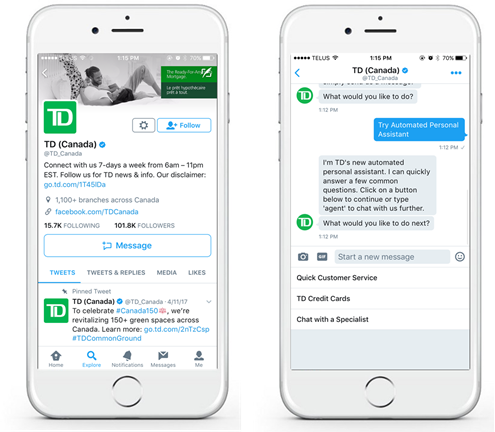 InTheChat Software - Mobile app