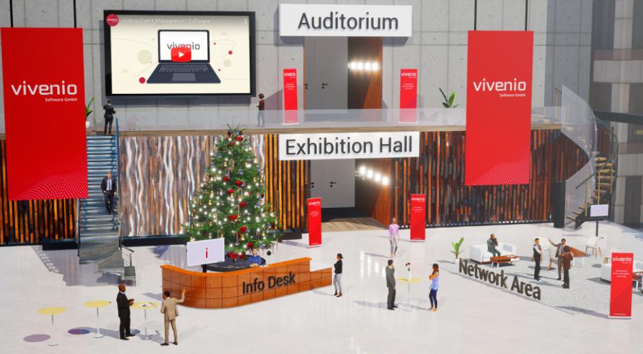 vivenio  screenshot: vivenio virtual event