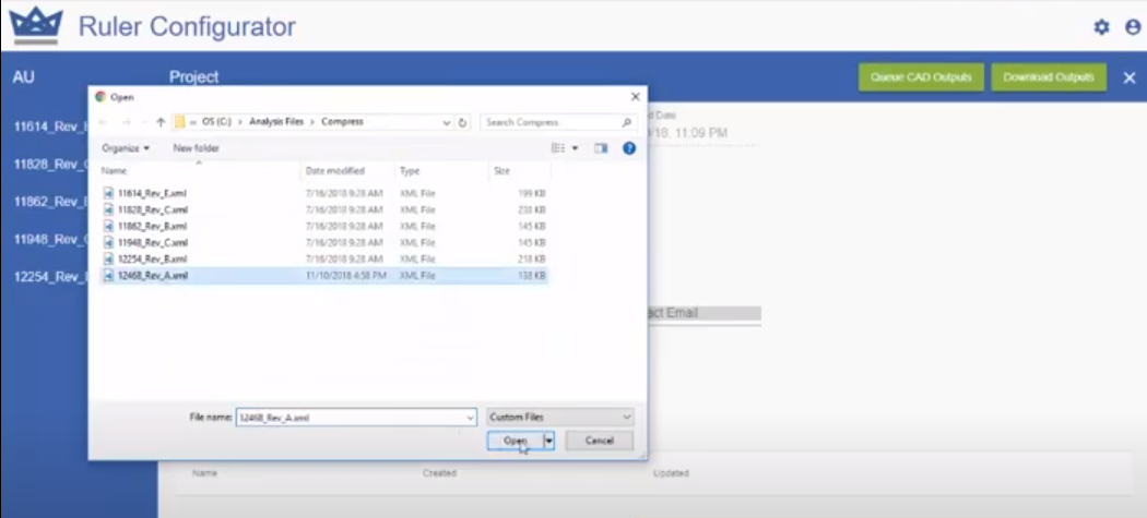 Ruler Rules Engine data import