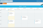 BigContacts screenshot: Track Meetings, Tasks and Birthdays with the Team Calendar