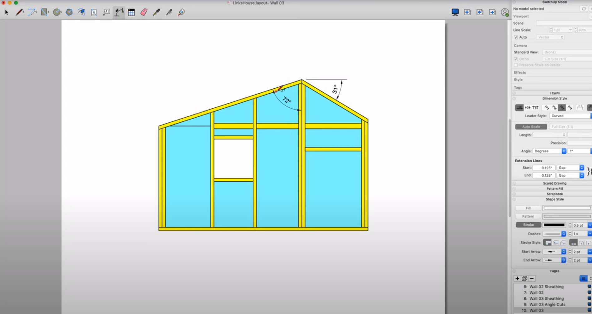 SketchUp Software - 2