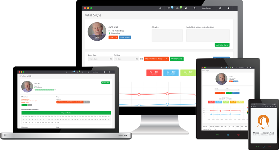 iCareManager is an online solution created for the service management of long-term care providers, offering compatibility across web-enabled devices