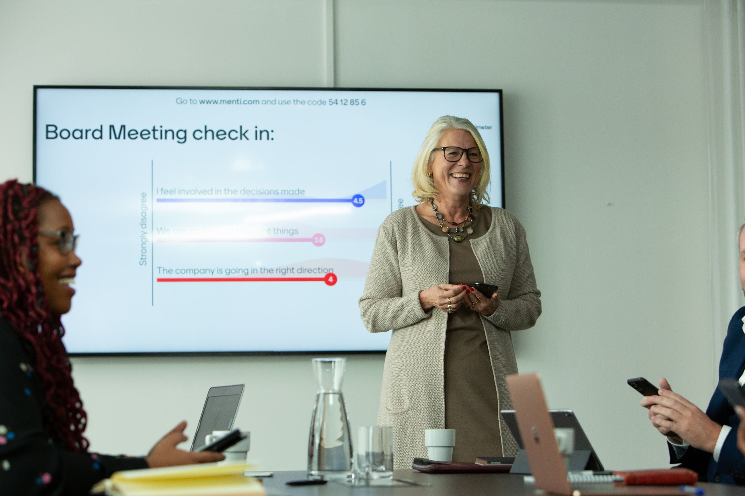 Mentimeter Software - Presenting with Mentimeter