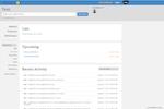 Binfire screenshot: Project Dashboard