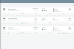 ScaleGrid screenshot: View a MongoDB cluster list to monitor current clusters