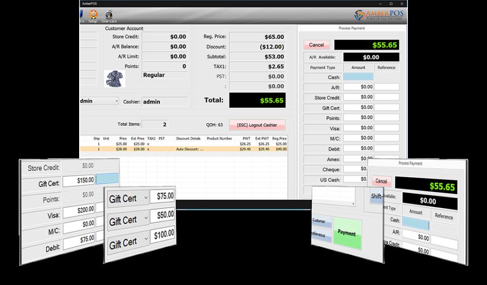 AmberPOS Software - 5