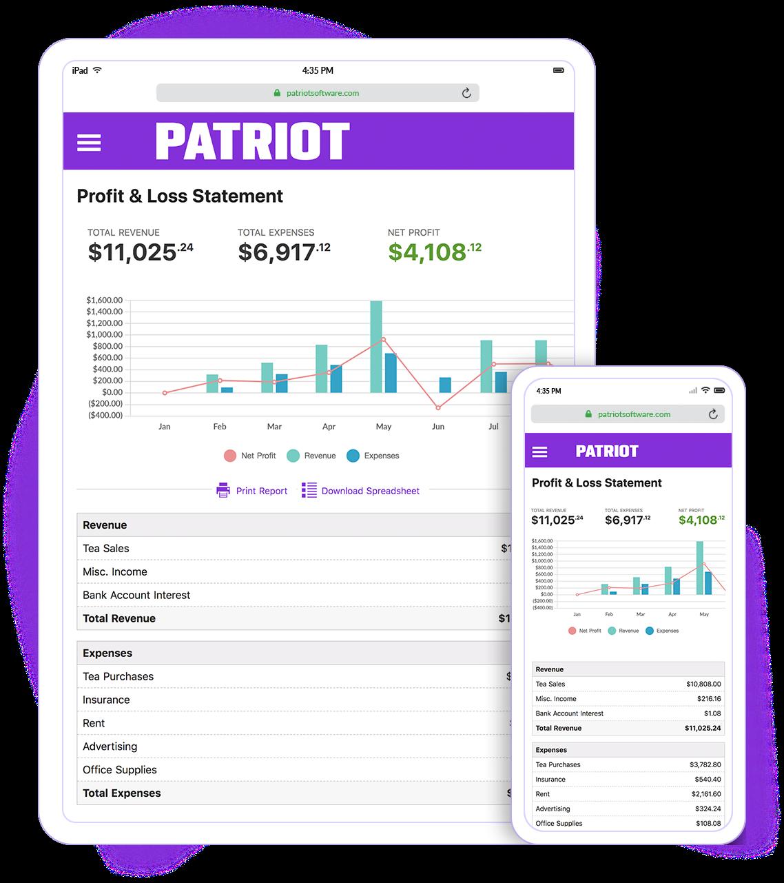 Patriot Accounting Logiciel - 2