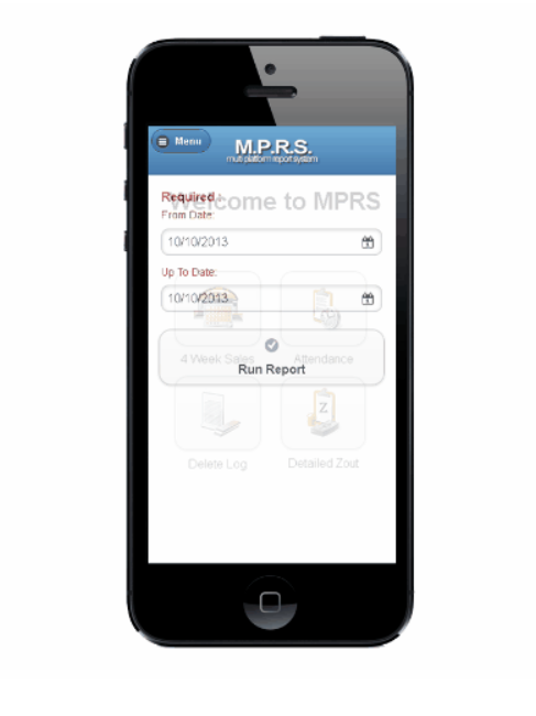 Visual Retail Plus Software - Access on mobile