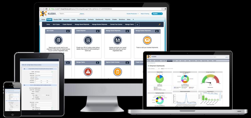 Kuebix TMS Software - 1