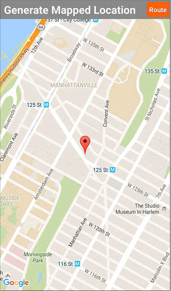Location information can also be captured using GPS with Forms On Fire