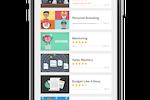 SAP Litmos screenshot: Mobile example of course library