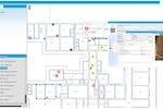 Geomap FMS screenshot: Management via CAD support