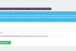 BlueWinston screenshot: Inset the campaign's name & XML product data feed URL