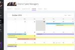 Geenio Software - Personal and group-level calendar helps to organize training schedule for the best performance and optimal load.