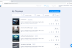 PlayPlay screenshot: PlayPlay video database