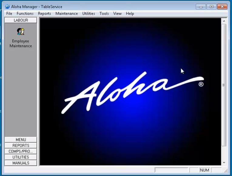 Aloha dashboard