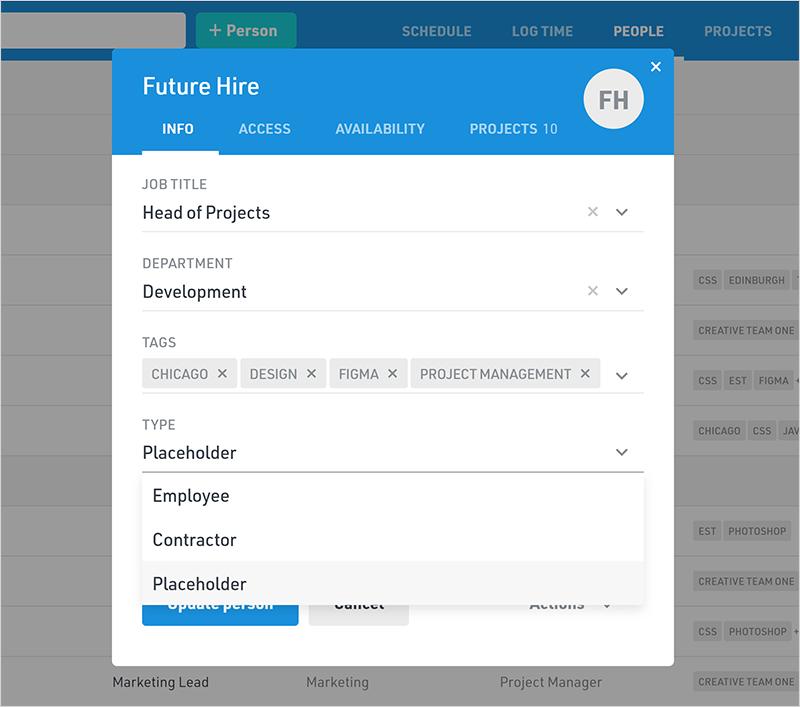 Float Software - Float role management