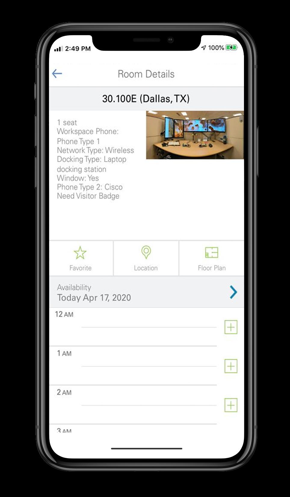 Hoteling App