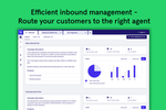 LeadDesk screenshot: LeadDesk efficient inbound