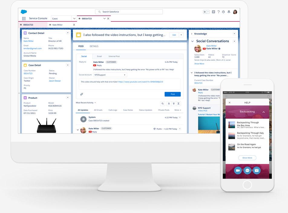 Salesforce Service Cloud Software - 3