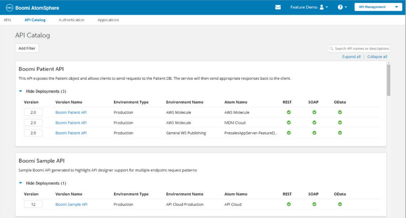 Boomi API Management
