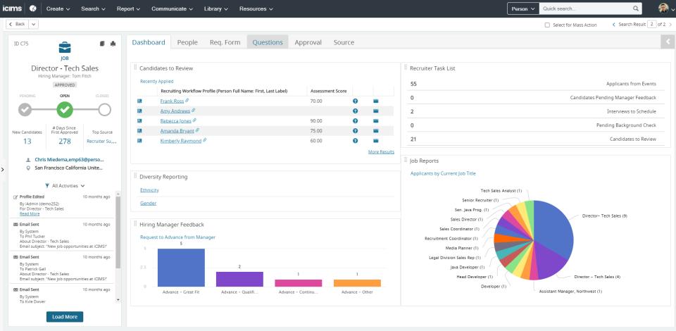 iCIMS Talent Cloud Software - 3