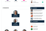 Unily screenshot: Profile Page