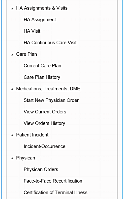 Care plans, medications, treatments, incidents, and more can be recorded and tracked