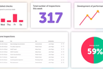 Lumiform screenshot: Lumiform data visualization