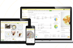 APICBASE Food Management screenshot: Access Apicbase F&B Management on any internet-enabled device, including laptops, tablets and mobiles