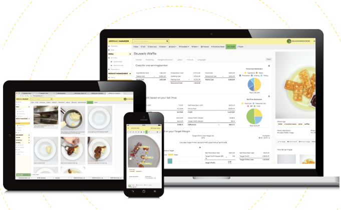 Access Apicbase F&B Management on any internet-enabled device, including laptops, tablets and mobiles