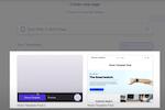Capture d'écran pour Shogun : Shogun create new page