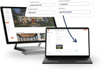 BuildBook screenshot: One place to send all new leads. Portfolio's are simple to create and easy to keep updated and designed to turn any visitor into a potential client.