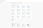 Captura de tela do Google Data Studio: Data can be accessed via over 110 connectors from Google, a growing number of Data Studio partners, and those from the open source community