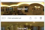LiveTour screenshot: Capture and save panoramic 360° shots and tours
