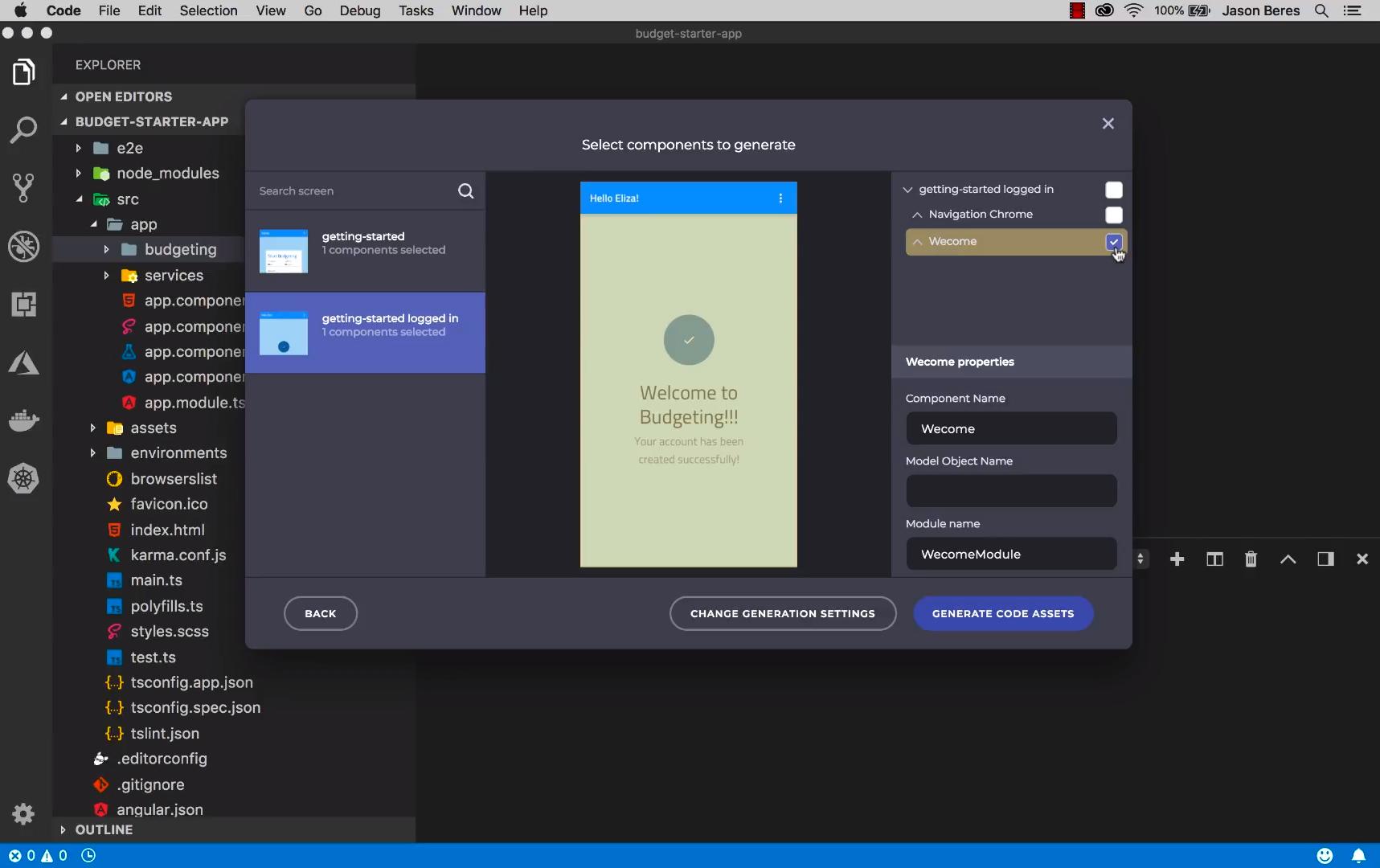 Indigo.Design components to generate