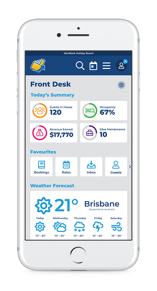 NewBook screenshot: newbook_platform_on_mobile