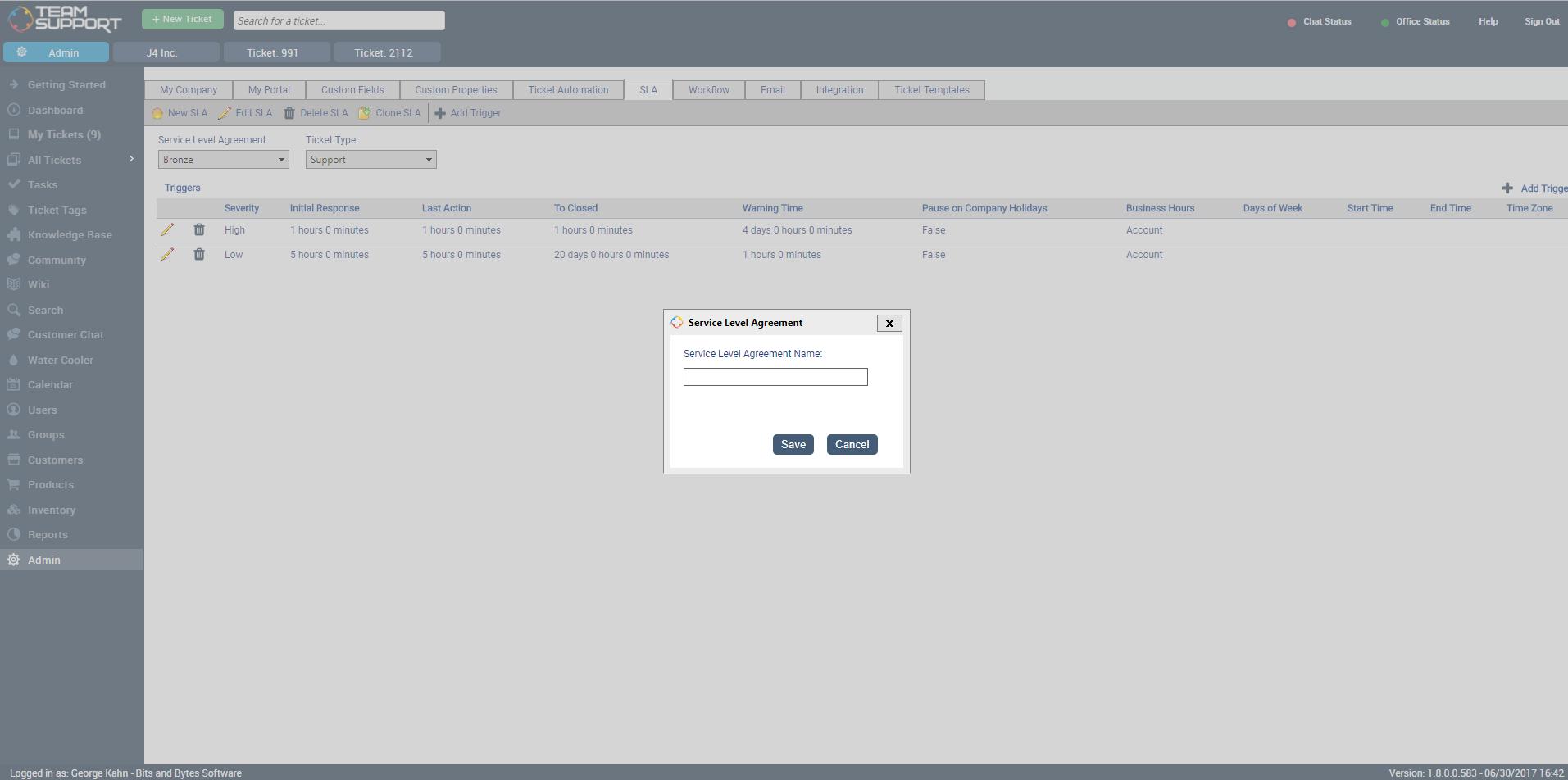 TeamSupport Software - 15
