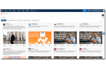 MavSocial screenshot: Curate content for social media directly from MavSocial's built-in RSS Feed.