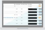 TrackMyLeads screenshot: Call recording