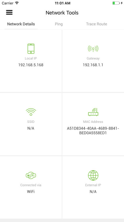 A dashboard helps users keep track of different networks